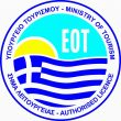 Logo of the GNTO, the Greek National Tourism Organisation