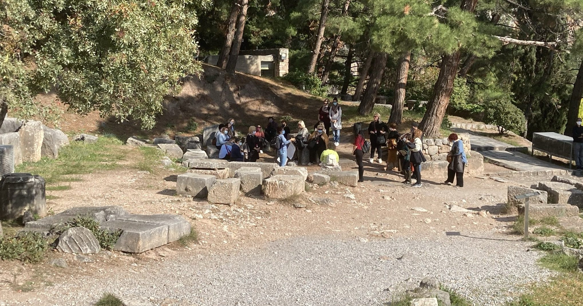 Private Tour in Delphi with a state-licensed tour guide